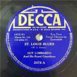 Guy Lombardo And His Royal Canadians - St. Louis Blues / Auld Lang Syne album mp3
