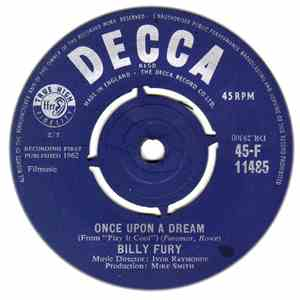 Billy Fury - Once Upon A Dream album mp3