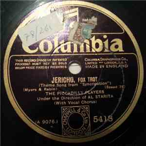 The Piccadilly Players  - Jericho / My Mother's Eyes album mp3