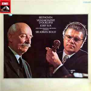 Beethoven / Josef Suk, New Philharmonia Orchestra, Sir Adrian Boult - Beethoven Violin Concerto, Coriolan Overture album mp3