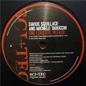 Davide Squillace And Michele Tabucchi - One Lobster, Please album mp3