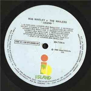 Bob Marley & The Wailers - Legend - The Best Of Bob Marley And The Wailers album mp3
