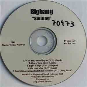 Bigbang - Smiling album mp3