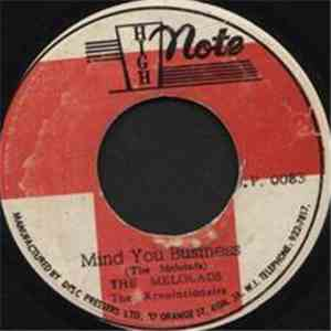 The Melolads / The Revolutionairs - Mind You Business album mp3