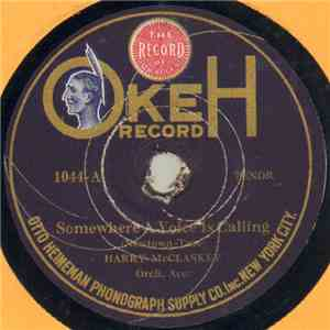 Harry McClaskey / Reed Miller - Somewhere A Voice Is Calling / Tell Her I Love Her So album mp3