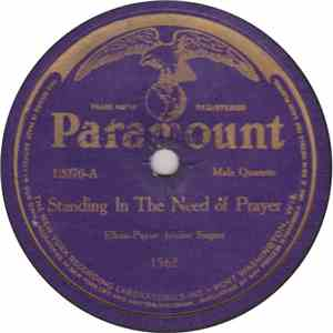 Elkins-Payne Jubilee Singers / Paramount Jubilee Singers - Standing In The Need Of Prayer / I Could'nt Hear Nobody Pray album mp3